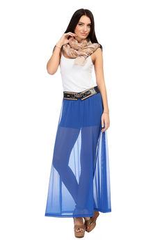 Синяя юбка-шорты Mondigo