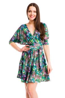 3b725c2afe4 Короткие зеленые платья в Ноябрьске купить в интернет-магазине KOKETTE