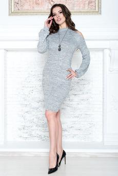 Платье с открытыми плечами Angela Ricci