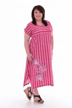 Новинка: длинное полосатое платье Новое кимоно