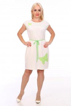Летнее платье с поясом кулиской Вилана